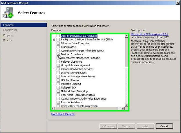 Server Manager - Desktop Experience