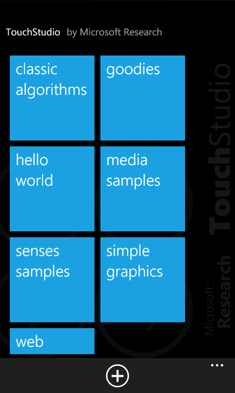 Touch Studio Sample Scripts