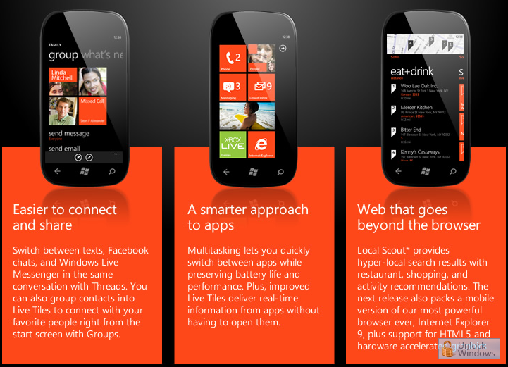 "Meet the next release of Windows Phone, Code name ""Mango"""