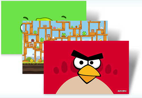 Download: Angry Birds Theme for Windows 7 from Microsoft