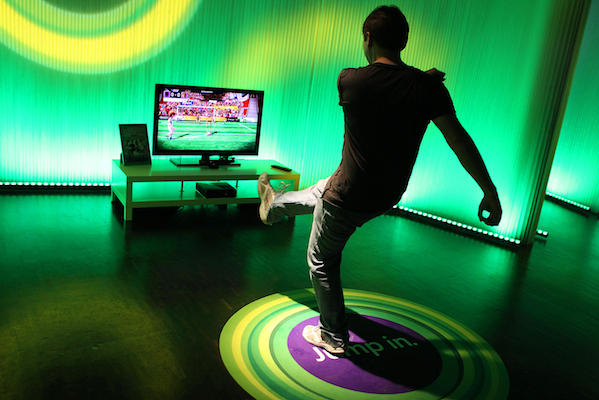 Microsoft Xbox 360 with Kinect SDK