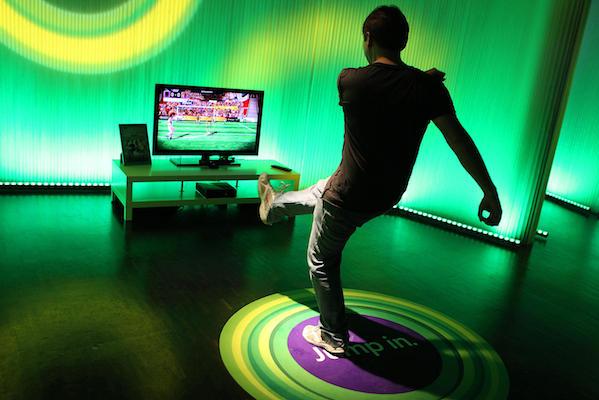 Microsoft Xbox 360 with Kinect SDK