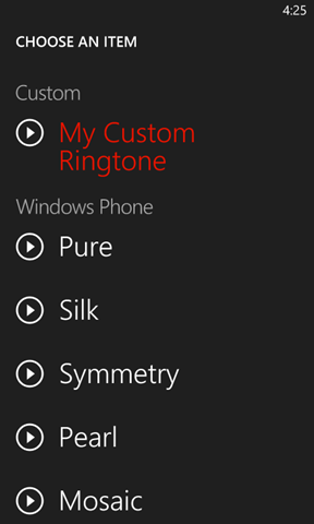 how to make your music your ringtone