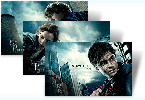 Download: Harry Potter theme for Windows 7