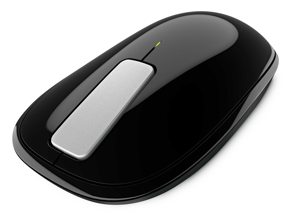 Microsoft Explorer Touch Mouse with 18-month battery life & 4-way touch scrolling