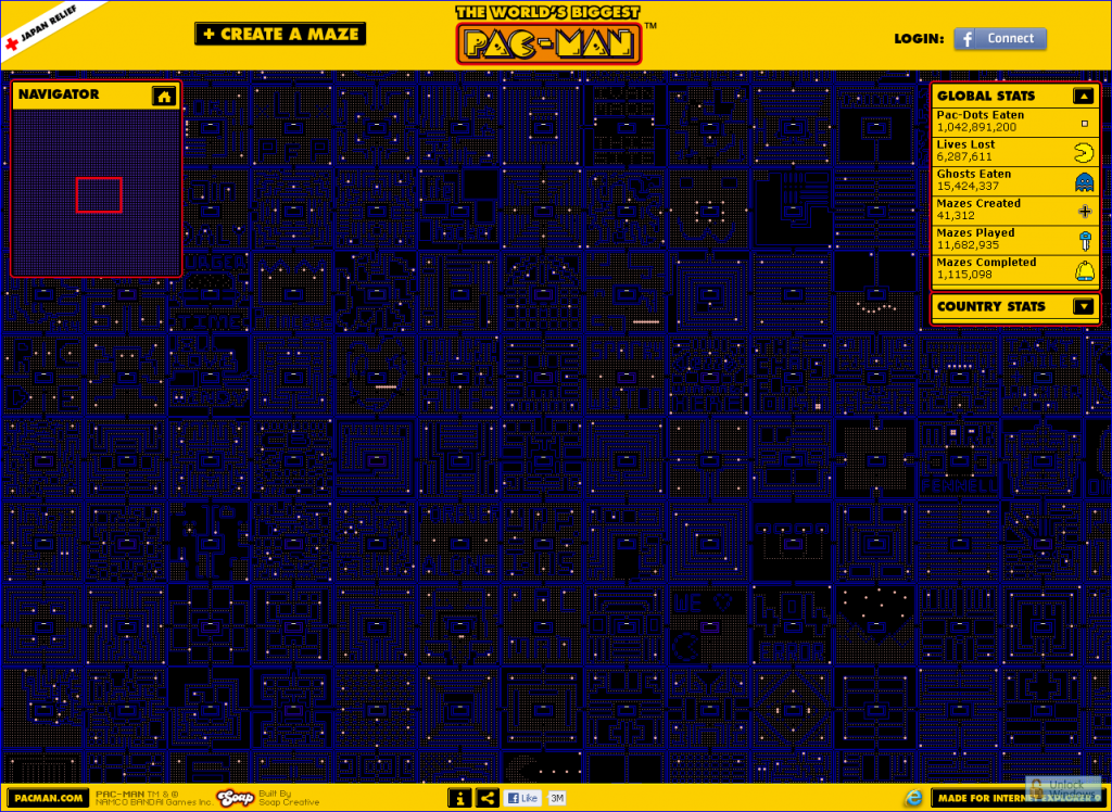 Super Justin The Blog The Worlds Biggest PacMan Was