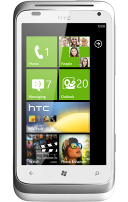 HTC Radar and Titan Windows Phone at a glance