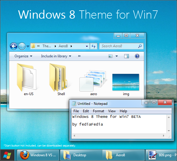 These Are Themes Windows 10 Right Now: Windows 8 Theme For Windows 7, Download Now