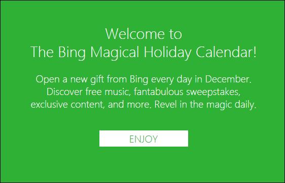 Bing giveaway