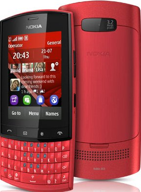 Nokia Asha 303 Specs and Overview
