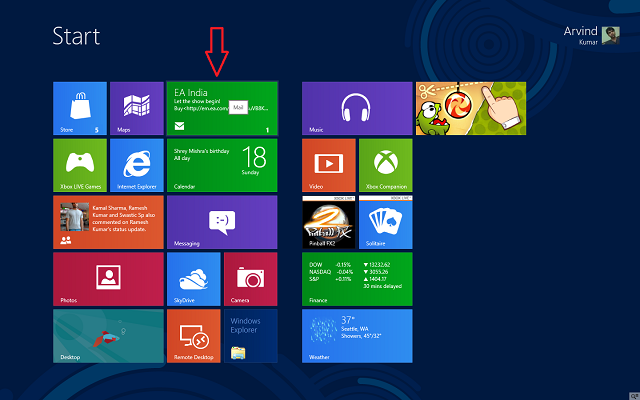 How to configure mail in Windows 8