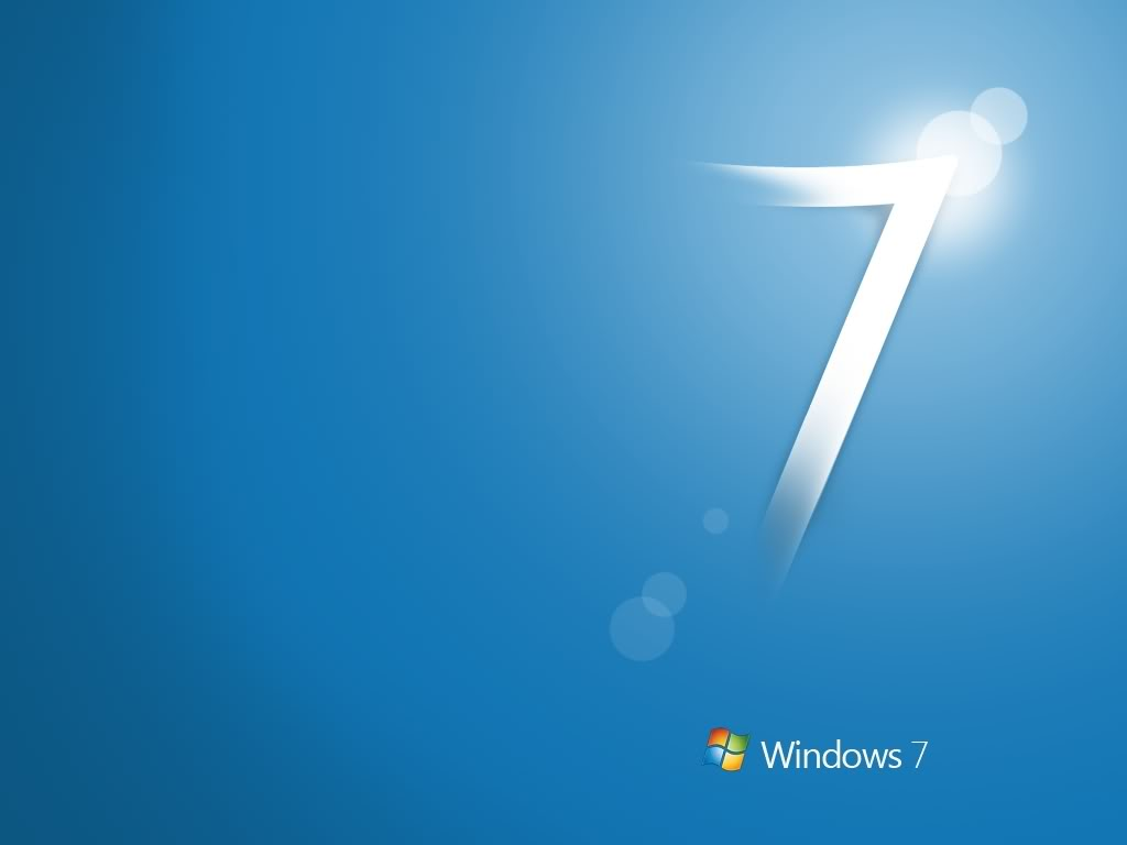 Windows7 Blue Wallpaper