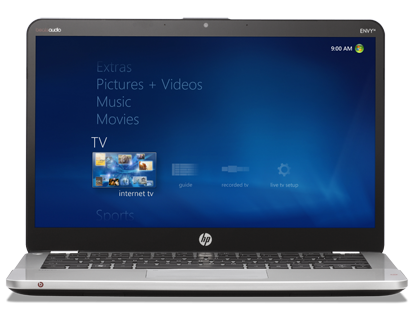 HP ENVY 14 Spectre first ultrabook with scratch-resistant Gorilla Glass