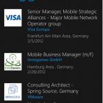 LinkedIn app for Windows Phone