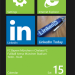 LinkedIn app for Windows Phone