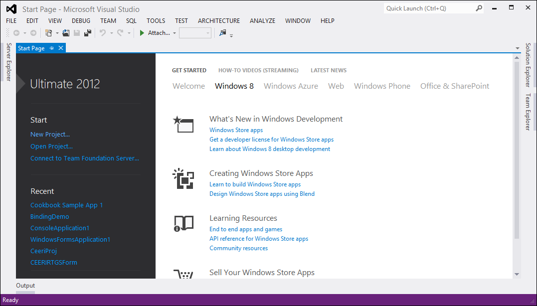 visual studio 2012 download for windows 7