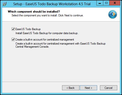 EaseUs Todo Backup Installation 2