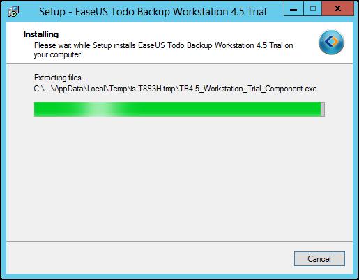EaseUs Todo Backup Installation 3