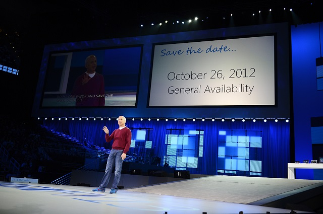 Windows 8 General Availability on October 26