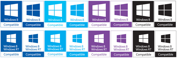 Windows 8 Compatible Logo Usage