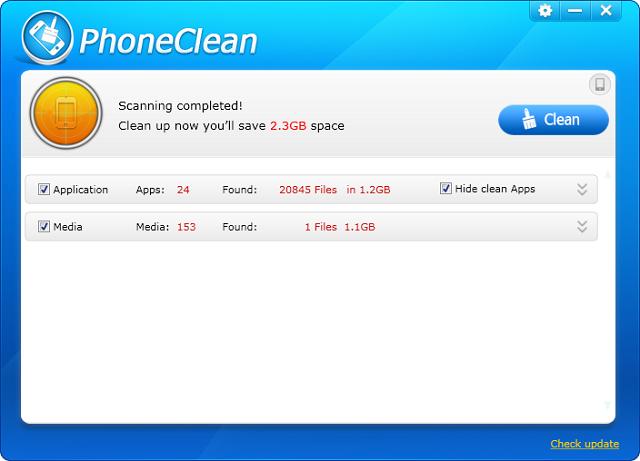 PhoneClean