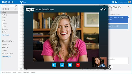 Skype On Outlook