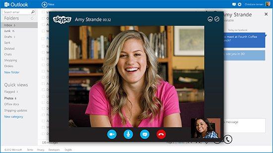 Skype On Outlook