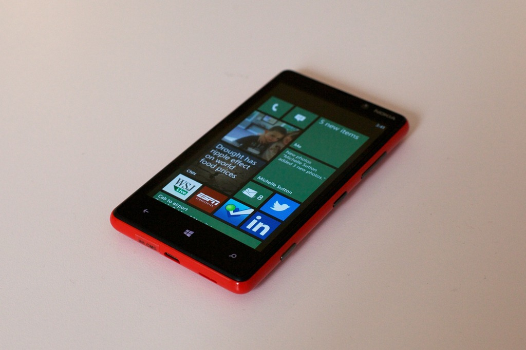 on windows phone 8 it s second phone from nokia launched on nokia
