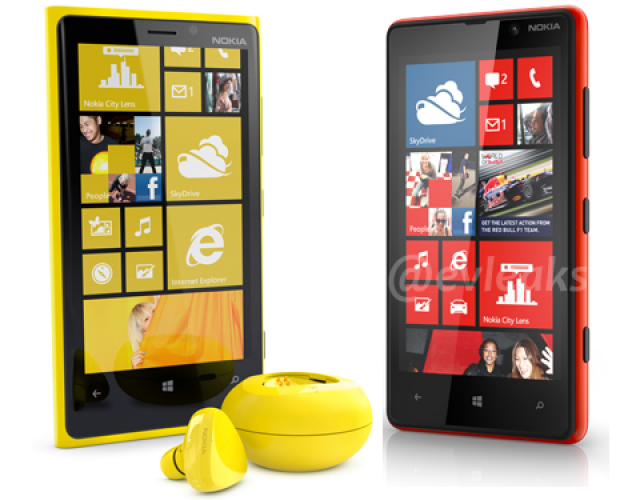 Nokia Lumia 920 coming with wireless charging