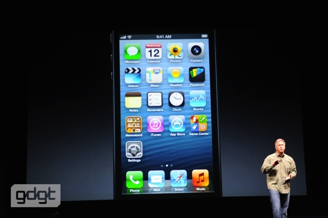 iPhone 5 released
