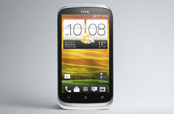 HTC Desire X in India at 19,799