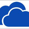 SkyDrive Logo Metro