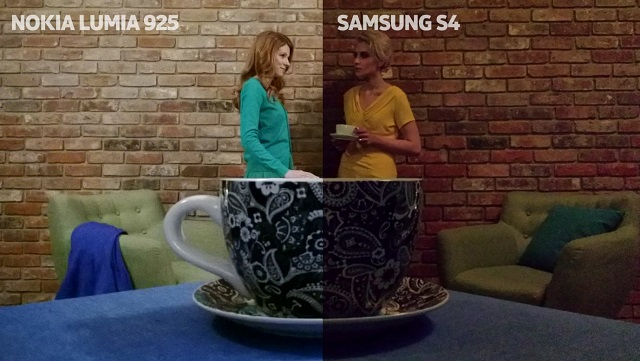Lumia 925 vs Galaxy S4 Camera Test