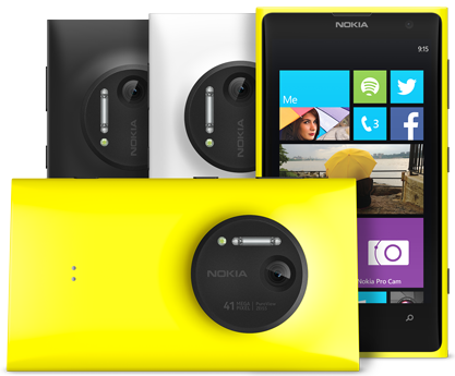 Nokia Lumia 1020 Pre Order available