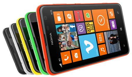 Nokia Lumia 625 Phone