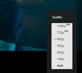 YouTube Video Setting 2160p 4k