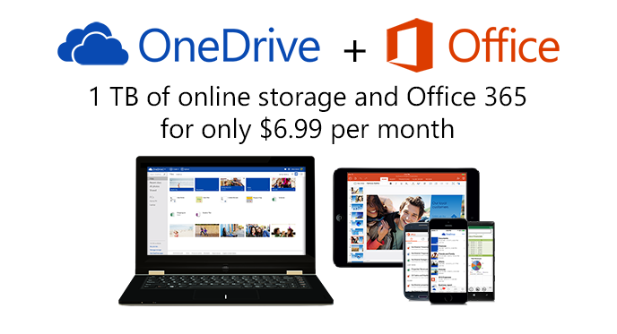 OneDrive and Office 365 Offer