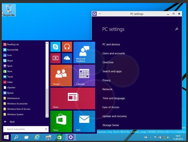 Windows 9 Technical Preview (2)