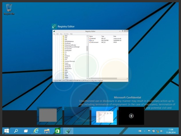 Windows 9 Technical Preview (3)