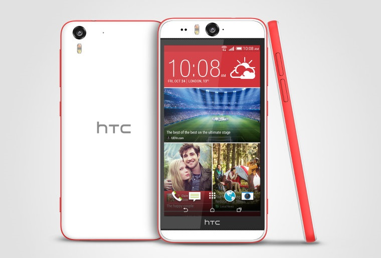 HTC Desire Eye, World's first 13MP front camera smartphone