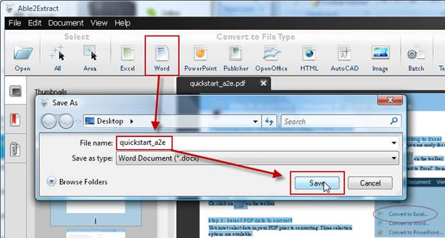 Able2Extract PDF Converter 8