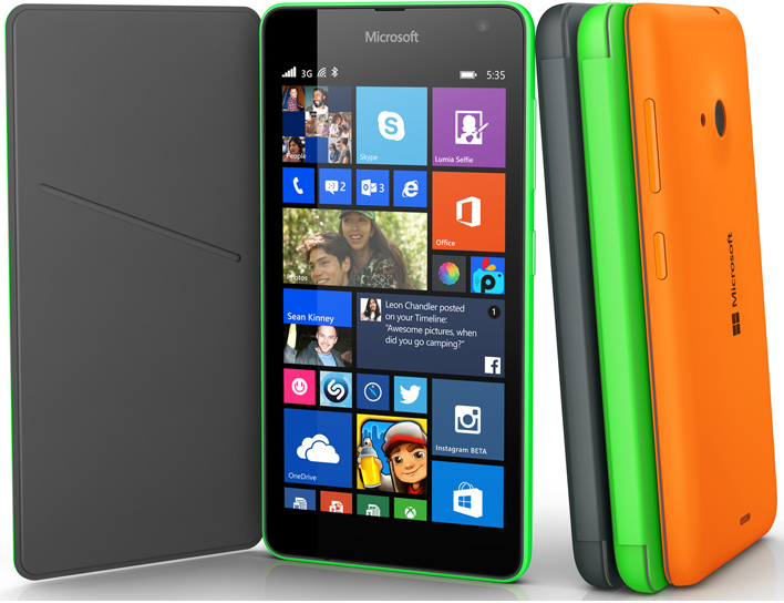Introduction to Microsoft Lumia 535 – Microsoft's first Lumia phone after dropping brand name Nokia