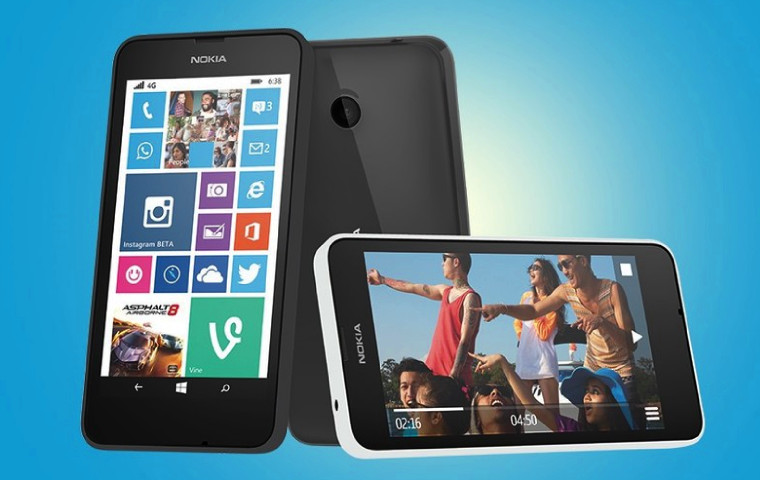 Microsoft Launches Nokia Lumia 638 in India Under Nokia Brand