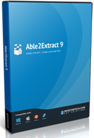 Able2Extract 9 Create PDF Logo