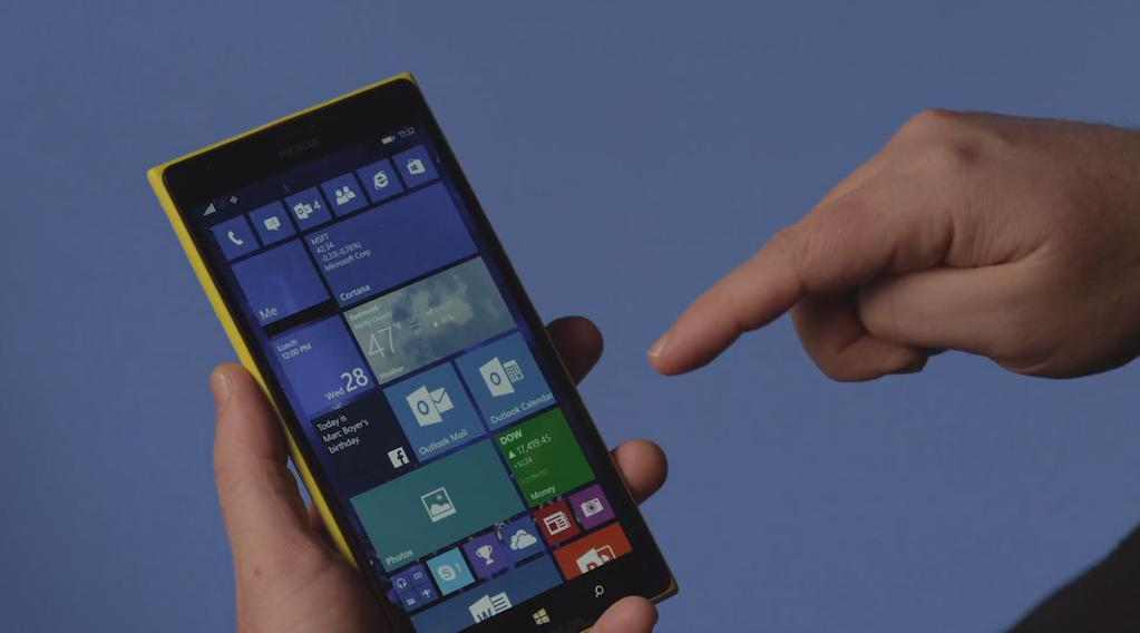 Windows Insider's receiving build 10136 on their Windows Phone, but it'll be tough to upgrade