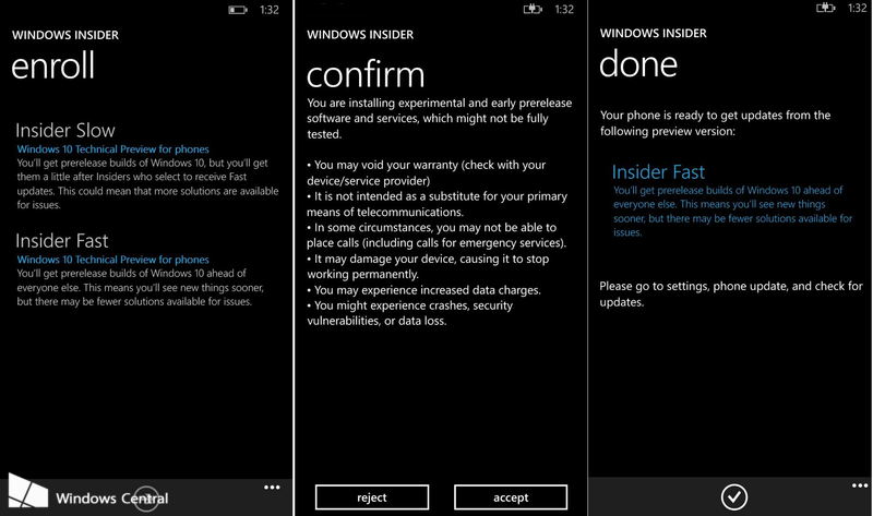 Windows 10 for Windows Phone