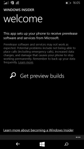 Windows Insider App