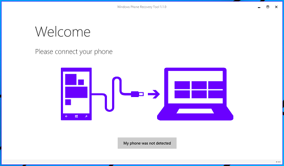 Roll back to Windows Phone 8.1 from Windows 10 Preview using Windows Recovery Tool