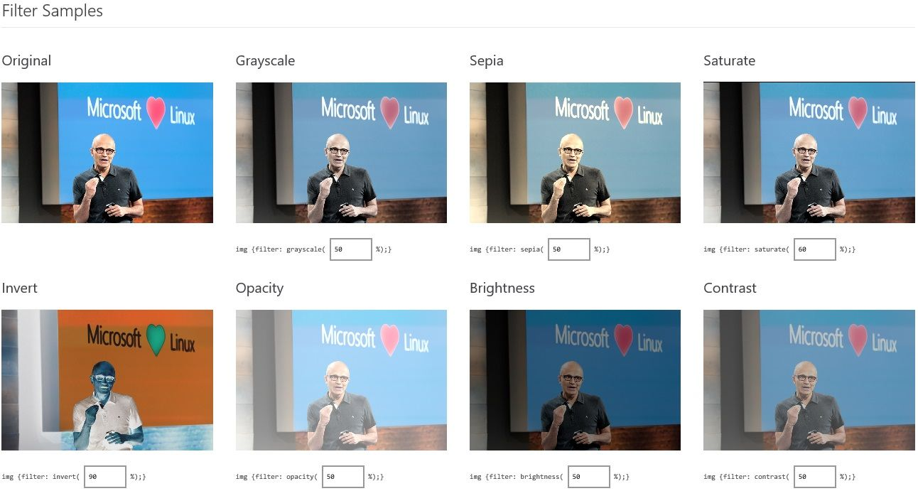 Microsoft-Edge-CSS-Filters