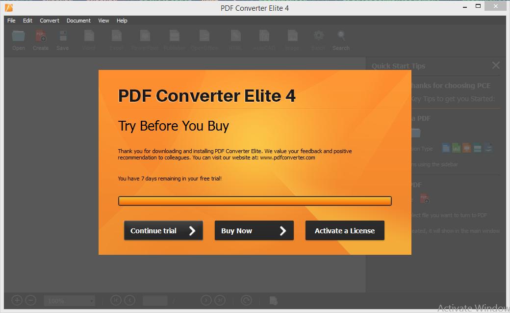 PDF Converter ELite 4 Installation